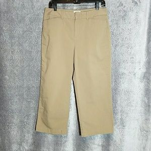 Dockers Ideal Fit Capri 10